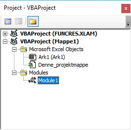 VBA Excel Introduktion